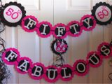 How to Decorate for A 50th Birthday Party 50th Birthday Party Decorations Party Favors Ideas