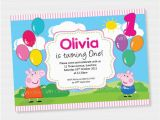 How to Design A Birthday Invitation Best Peppa Pig Birthday Invitations Designs Of How to