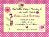 How to Design A Birthday Invitation Card Items Similar to Ladybug Birthday Party Invitations with
