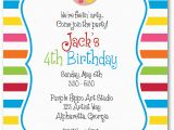 How to Design A Birthday Invitation Create Own Party Invitation Free Templates Invitations