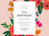 How to Design A Birthday Invitation Floral Birthday Dp Birthday Invitations