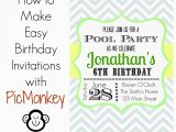 How to Design A Birthday Invitation Unique Ideas for Make Birthday Invitations Templates