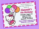 How to Design A Birthday Party Invitation How to Create Hello Kitty Birthday Invitations Templates