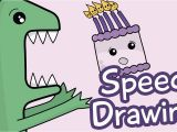 How to Draw A Birthday Card Cute Birthday Cake Drawing Www Imgkid Com the Image
