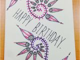 How to Draw A Birthday Card Hand Drawn Birthday Card by Cardsbys On Etsy 5 00