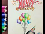 How to Draw A Birthday Card Pencil Drawing 33 A Birthday Card to My Friends by