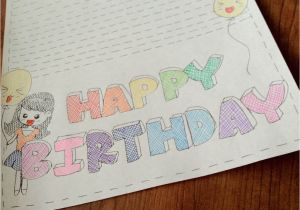 How to Draw A Birthday Card Veggie 39 S World Happy Birthday Card