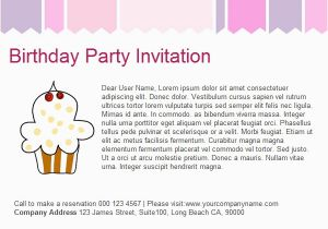 How To Invite Birthday Party Invitation Email Template 23 Free Psd Eps