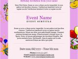 How to Invite Birthday Party Invitation Email Birthday Invitation Email Template 27 Free Psd Eps format