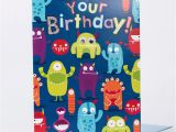 How to Make A Big Birthday Card Giant Birthday Card Monsters Only 99p