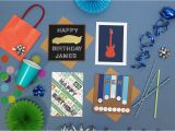 How to Make A Birthday Card for A Boy Four Birthday Cards to Make for Boys Hobbycraft Blog