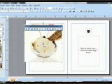How to Make A Birthday Card On Word Ms Publisher Birthday Card Youtube
