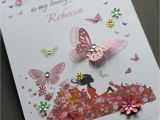 How to Make A Birthday Card Online A5 Handmade Personalised Cute Car Birthday Card Sister