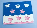 How to Make A Birthday Card Out Of Paper Card Making Idea Scalloped Edge Card Tutorial Greeting