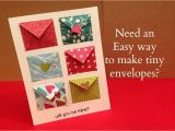 How to Make A Birthday Card Out Of Paper How to Make Tiny Envelope and A Card Tutorial Youtube