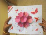 How to Make A Birthday Card Out Of Paper Pop Up Flower Card