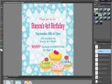 How to Make A Birthday Invitation In Photoshop Lauren Likes to Draw Tutorial Make Your Own Invites with