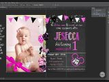 How to Make A Birthday Invitation In Photoshop Making A Birthday Invitation In Photoshop First Birthday