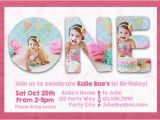 How to Make A Birthday Invitation In Photoshop Photoshop Template First 1st One Birthday Invite