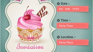 How to Make A Birthday Invitation Online for Free Child Birthday Party Invitations Cards Wishes Greeting Card