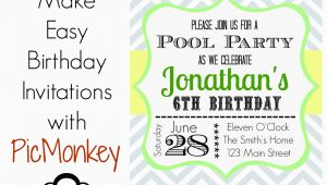 How To Make A Birthday Party Invitation