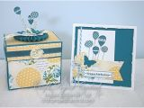How to Make A Card Box for A Birthday Party Create with Christy Birthday Explosion Box Greeting Card
