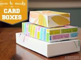 How to Make A Card Box for A Birthday Party How to Make A Birthday Card organizer and Card Box