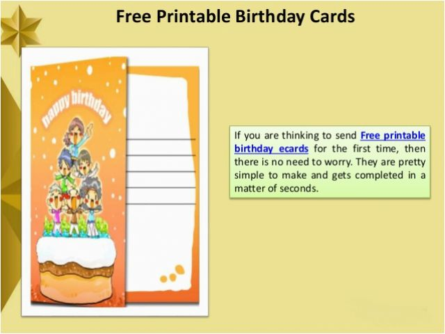 How To Make A Digital Birthday Card Free Printable Ecards
