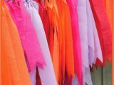 How to Make A Happy Birthday Banner Out Of Construction Paper A Thrifter In Disguise Diy Crepe Paper Party Banner