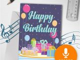 How to Make A Musical Birthday Card 120s Happy Birthday Card with Music Musical Birthday