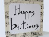 How to Make A Musical Birthday Card Chlef Musical Notes Birthday Card by Say It Folksy