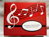 How to Make A Musical Birthday Card Creations by Patti Musical Birthday Card