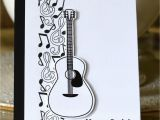 How to Make A Musical Birthday Card Music Notes Birthday Card Marybethstimeforpaper