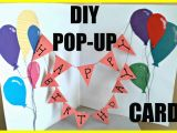 How to Make A Pop Up Birthday Card Easy Diy How to Make A Popup Birthday Card Ejournalz