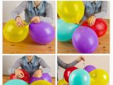 How to Make Balloon Decoration for Birthday Party Balloon Columns On Pinterest Balloon Centerpieces