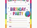 How to Make Birthday Invitation Card Online Birthday Party Invitations Amazon Com