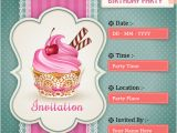 How to Make Birthday Invitations Online for Free Child Birthday Party Invitations Cards Wishes Greeting Card