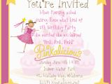 How to Make Birthday Invites Running with Glitter A Pinkalicious Party Invitation