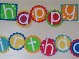 How to Make Happy Birthday Banner Birthday Banner Being Genevieve