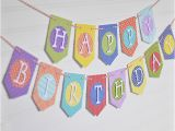 How to Make Happy Birthday Banner Diy Birthday Banner with Patterned Paper