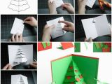 How to Make Pop Up Birthday Cards Step by Step How to Make Christmas Tree Pop Up Card Step by Step Diy