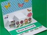 How to Make Pop Up Birthday Cards Step by Step Step Pop Up Cards Greeting Card Ideas Aunt Annie 39 S Crafts