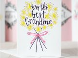 How to Make the Best Birthday Card 39 World 39 S Best Grandma 39 Birthday or Mothers 39 Day Card by