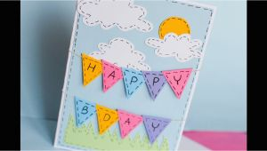 How to Make the Best Birthday Card How to Make Greeting Birthday Card Step by Step
