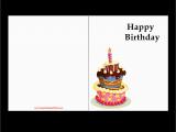 How to Print Birthday Cards Printable Birthday Cards Free Printables 2018