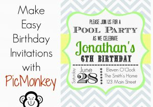 How To Print Birthday Invitations At Home Make In Easy Way