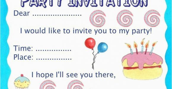 How to Print Birthday Invitations for Free Birthday Party Invitation Rooftop Post Printables