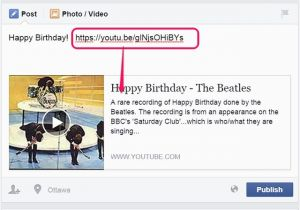 How To Send A Free Birthday Card On Facebook Greeting