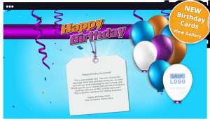 How to Send An E Birthday Card Corporate Birthday Ecards Employees Clients Happy
