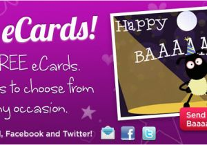 How To Send Free Birthday Cards On Facebook Ecards